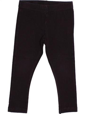Legging fille KIABI noir 2 ans hiver #1524025_1