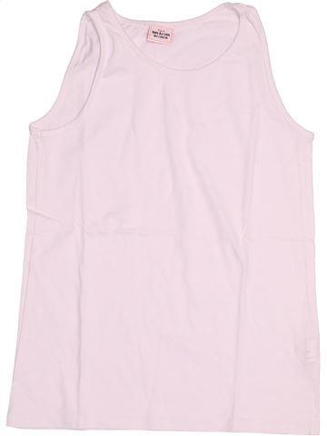 T-shirt sans manches fille TAPE À L'OEIL rose 10 ans été #1524097_1