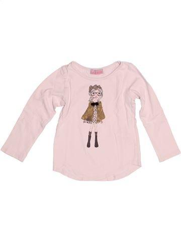 Camiseta de manga larga niña LISA ROSE rosa 4 años invierno #1524573_1