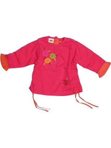 Camiseta de manga larga niña 3 POMMES rojo 6 meses invierno #1524774_1