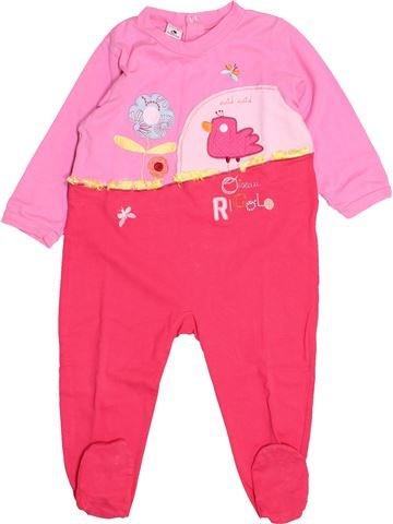 Pyjama 1 pièce fille ABSORBA rouge 2 ans hiver #1525634_1