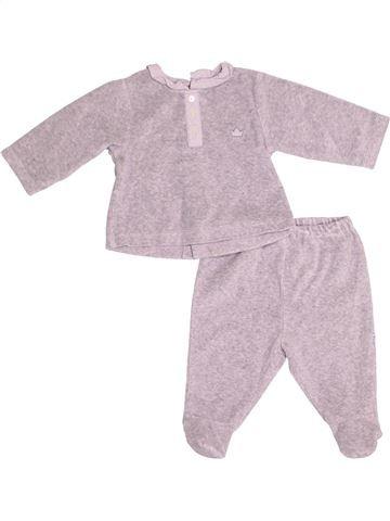 Pyjama 2 pièces garçon JACADI rose 6 mois hiver #1526395_1