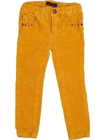 Pantalon fille CATIMINI orange 2 ans hiver #1526473_1