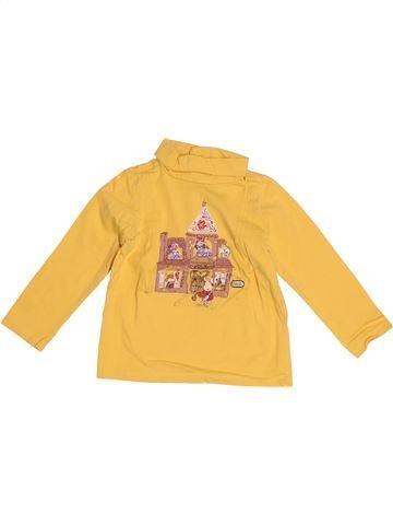 T-shirt col roulé fille SERGENT MAJOR jaune 2 ans hiver #1526497_1