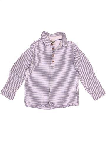 Chemise manches longues garçon TAPE À L'OEIL violet 3 ans hiver #1527110_1