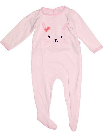 Pyjama 1 pièce fille DPAM rose 2 ans été #1527126_1