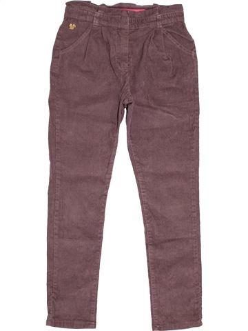 Pantalon fille SERGENT MAJOR violet 7 ans hiver #1527225_1
