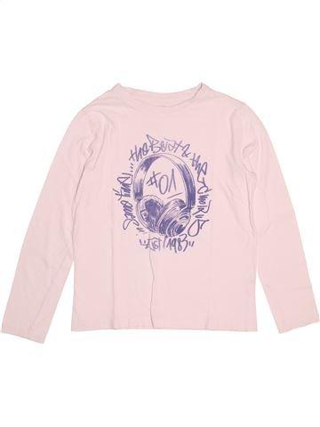 T-shirt manches longues garçon KIABI rose 12 ans hiver #1527359_1