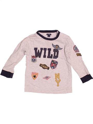 T-shirt manches longues garçon KIABI violet 2 ans hiver #1527487_1
