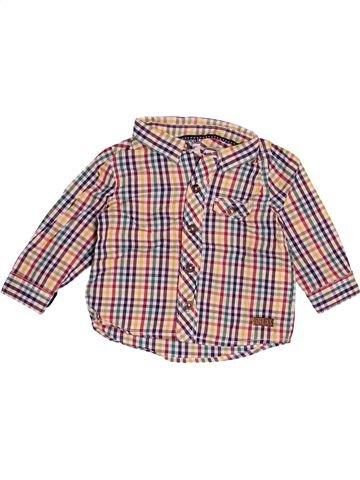 Chemise manches longues garçon TAPE À L'OEIL beige 6 mois hiver #1527524_1