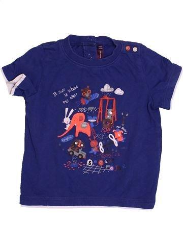 T-shirt manches courtes garçon SERGENT MAJOR bleu 18 mois été #1527619_1