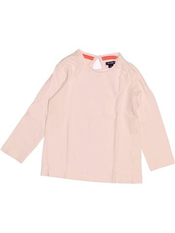 T-shirt manches longues fille KIABI blanc 2 ans hiver #1527779_1