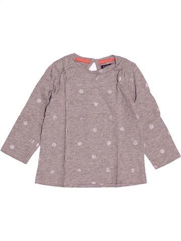 T-shirt manches longues fille KIABI violet 2 ans hiver #1527804_1