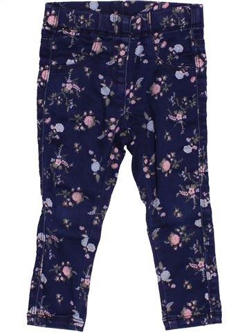 Pantalon fille KIABI bleu 2 ans hiver #1527850_1