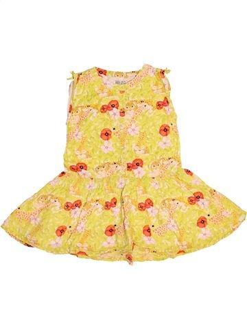 Robe fille KENZO jaune 3 ans été #1528077_1