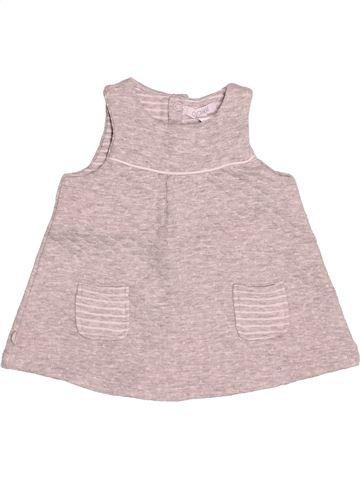 Robe fille OKAIDI rose 3 mois hiver #1528125_1