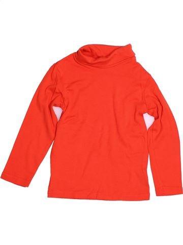 T-shirt col roulé garçon KIABI rouge 6 ans hiver #1528286_1