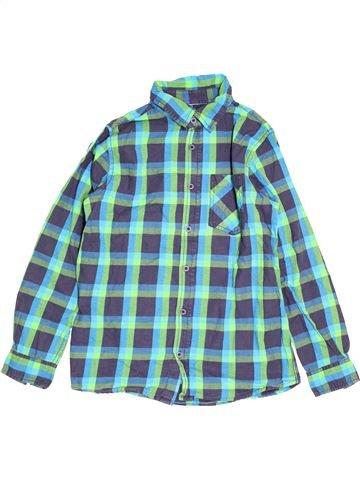Chemise manches longues garçon YIGGA bleu 12 ans hiver #1529209_1