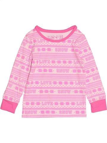 Camiseta de manga larga niña MARKS & SPENCER rosa 4 años invierno #1529217_1