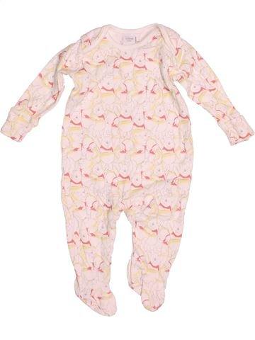 Pijama de 1 pieza niño DISNEY blanco 6 meses verano #1530556_1