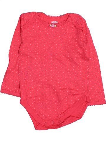 Camiseta de manga larga niña HEMA rojo 6 meses invierno #1530670_1