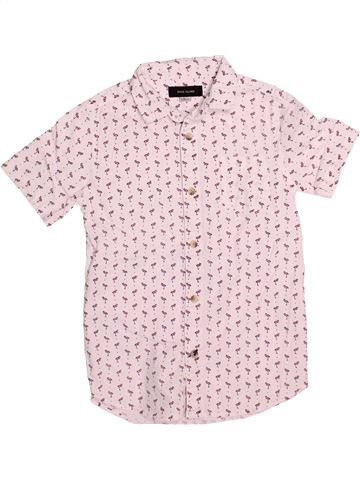 Chemise manches courtes garçon RIVER ISLAND rose 6 ans été #1530836_1