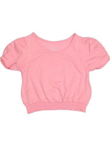 T-shirt manches courtes fille RIVER ISLAND beige 8 ans été #1531213_1