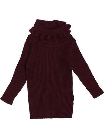 T-shirt col roulé fille NEXT marron 6 mois hiver #1531862_1