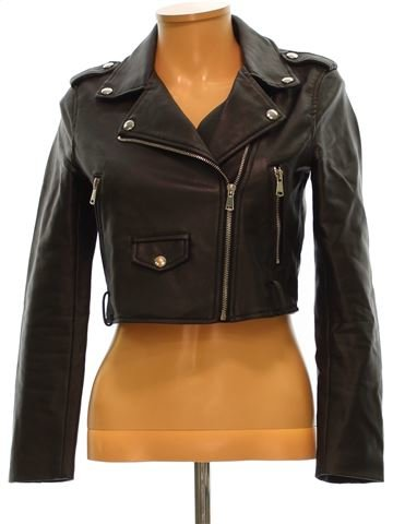 Vestes cuir simili femme BERSHKA XS hiver #1532577_1