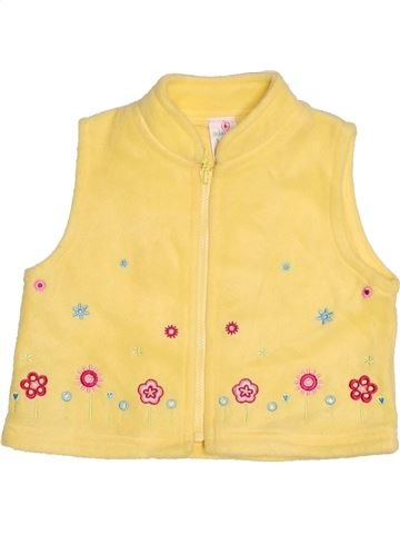 Gilet fille ADAMS jaune 6 mois hiver #1532785_1