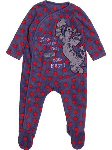 Robe de chambre garçon GEORGE violet 9 mois hiver #1532792_1