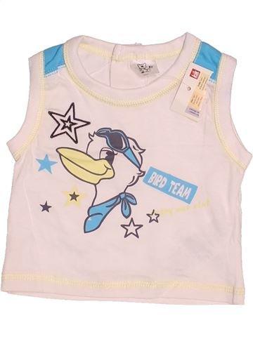 Top - Camiseta de tirantes niño SANS MARQUE rosa 0 meses verano #1532807_1