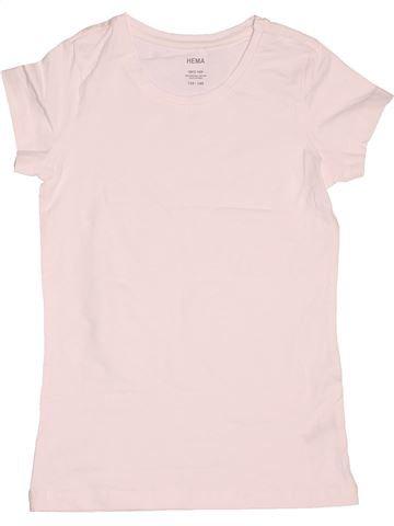 Camiseta de manga corta niña HEMA blanco 10 años verano #1532900_1