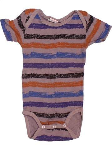 T-shirt manches courtes garçon ABSORBA violet 9 mois été #1533948_1