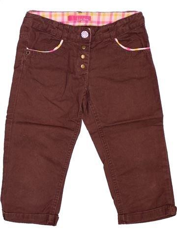 Pantalon fille LISA ROSE marron 5 ans été #1534140_1