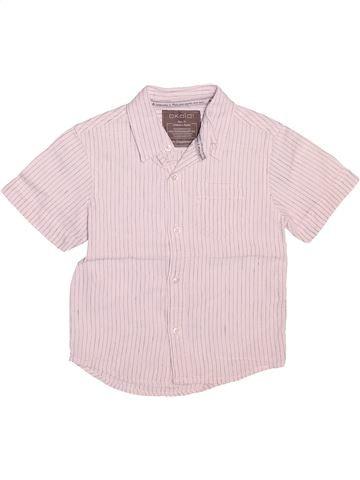 Camisa de manga corta niño OKAIDI rosa 3 años verano #1534213_1
