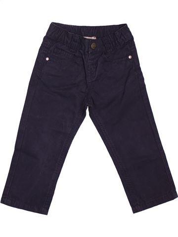 Pantalon garçon GRAIN DE BLÉ noir 2 ans hiver #1534429_1