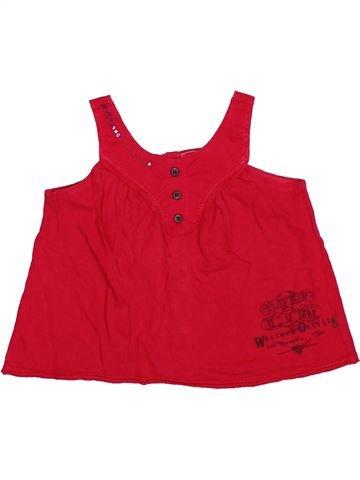 Camiseta sin mangas niña LISA ROSE rojo 3 años verano #1534512_1