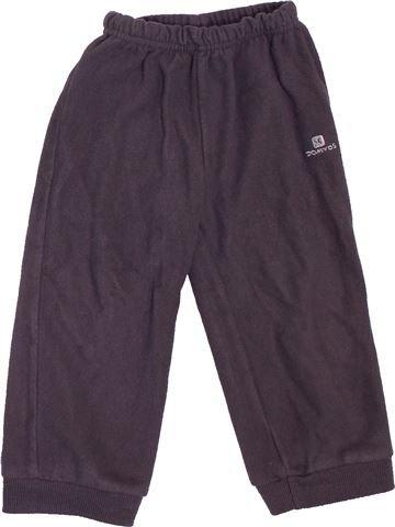 Pantalón niño DOMYOS gris 2 años invierno #1534535_1