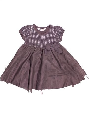 Vestido niña H&M gris 4 años invierno #1534549_1