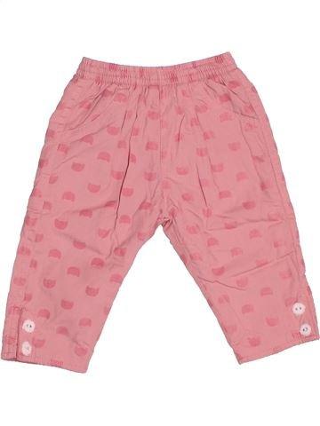 Pantalon fille SUCRE D'ORGE rose 6 mois hiver #1534582_1