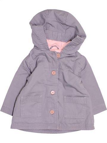 Manteau fille JACADI gris 12 mois hiver #1534683_1