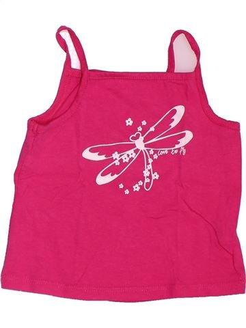 T-shirt sans manches fille ORCHESTRA rose 2 ans été #1534689_1