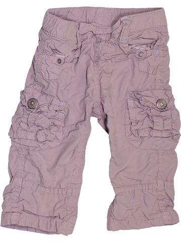Pantalon garçon TAPE À L'OEIL violet 12 mois hiver #1534771_1