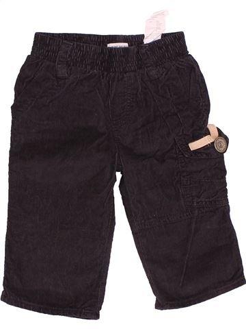 Pantalon garçon IKKS bleu foncé 6 mois hiver #1534966_1