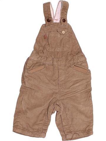Salopette garçon OKAIDI marron 3 mois hiver #1535270_1