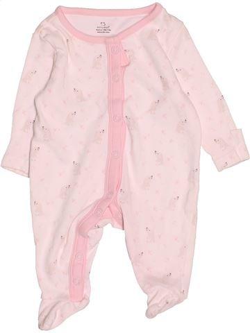 Pyjama 1 pièce fille PRIMARK blanc naissance été #1535397_1