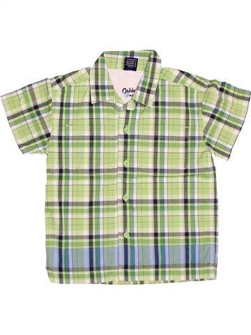 Chemise manches courtes garçon OSH KOCH B'GOSH vert 3 ans été #1535499_1