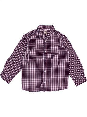 Chemise manches longues garçon TAPE À L'OEIL violet 4 ans hiver #1535523_1