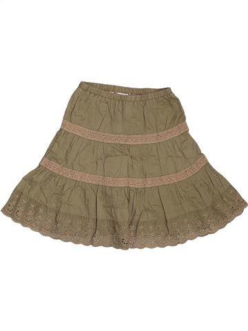Falda niña OKAIDI marrón 2 años verano #1535758_1